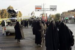 برگزاری پیاده روی جاماندگان اربعین در استان تهران