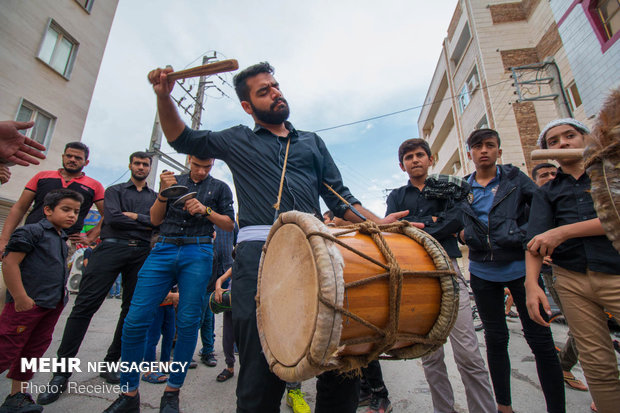 مراسم العزاء في ذكرى وفاة الرسول الأعظم (ص) في بوشهر