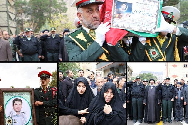 ابلاغ پیام تبریک و تسلیت امام خامنه ای به خانواده شهید نورخدا