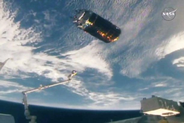 کپسول فضایی باری ژاپن از ایستگاه فضایی بین المللی جدا شد