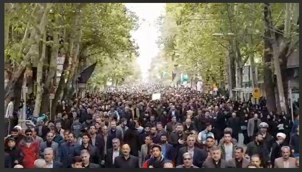 تشییع پیکر شهید نورخدا