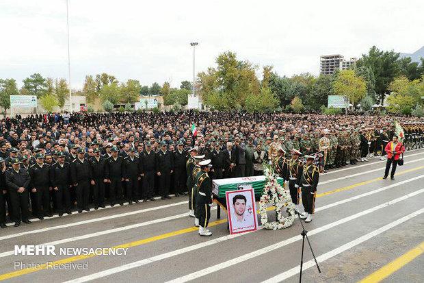 تشییع پیکر شهید نورخدا موسوی