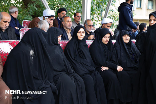 تصاویر/ تشییع پیکر شهید نورخدا موسوی