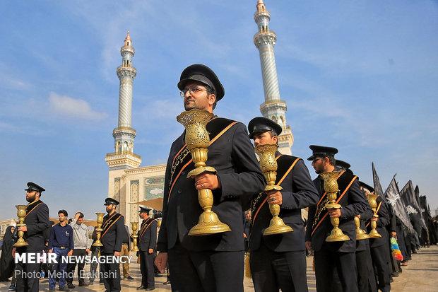 فلم/ حرم حضرت معصومہ (س) کے خادمین کی عزاداری میں شرکت