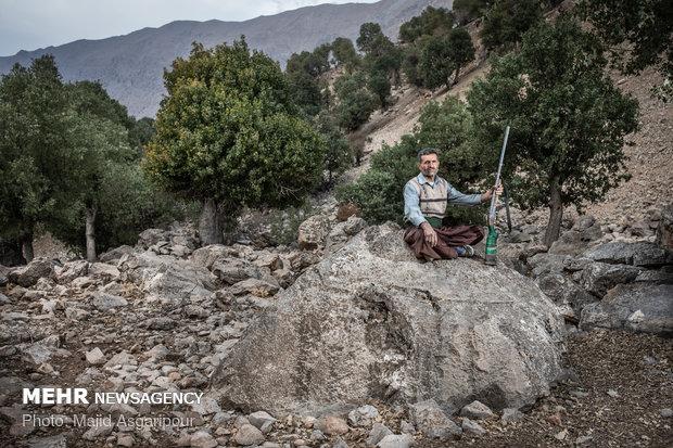 میرون آزاد 35 ساله و اهل مودل است. او شش فرزند دارد و به چوپانی مشغول است.