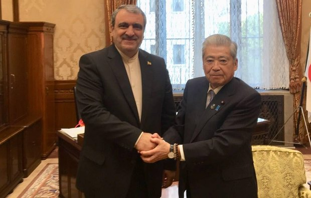 Pres. of Japan's House of Councilors calls for closer ties with Iran