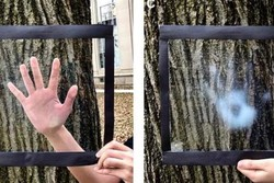 فیلمی که روی پنجره می چسبد و گرما را مسدود می کند!