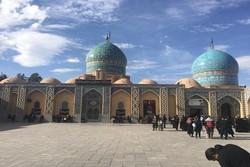 مراسم تشییع نمادین امام رضا(ع) در جوپار برگزار شد