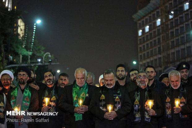 مراسم شام غریبان شهادت امام رضا(ع) در مشهد