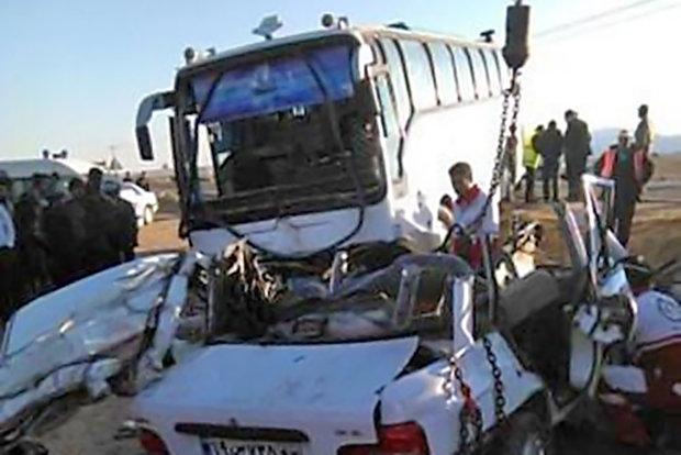 حوادث پر تلفات ترافیکی در کشور افزایش یافته است