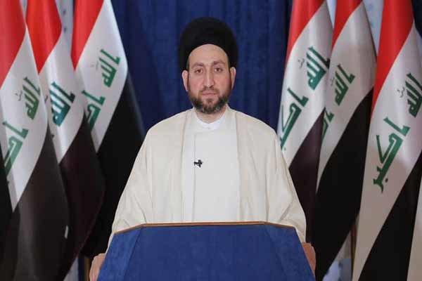 السيد عمار الحكيم يستنكر بشدة تفجير إيران ويدعو لتكاتف دول المنطقة ضد الإرهاب