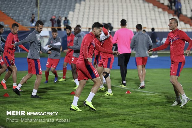 Perspolis FC holds presser, training before final match