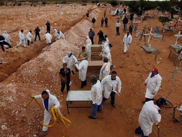 ایتھوپیا میں ایک اجتماعی قبر سے 200 لاشیں برآمد
