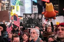 تظاهرات علیه اعمال نفوذ ترامپ در تحقیقات مولر