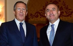 Lavrov,Cavusoglu discuss holding new Astana meeting on Syria