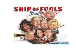 کشتی احمقها: چطور طبقه خودخواه، آمریکا را به انقلاب میکشاند!