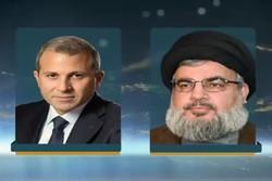 Nasrallah ile Basil'den Lübnan'da milli birliğe vurgu