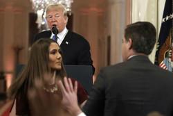 درگیری ترامپ با خبرنگاران