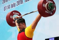 Davoudi wins gold at Asian weightlifting championships