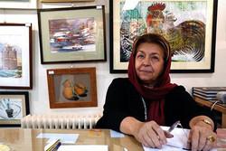 Golestan Gallery owner Lili Golestan.