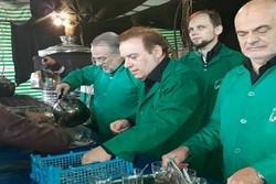 خدمت رسانی ۴ دانشمند اروپایی به زائران امام هشتم(ع)