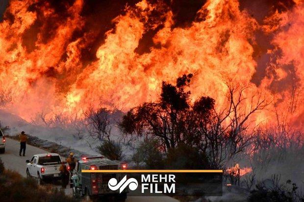 کیلیفورنیا آگ کے محاصرے میں