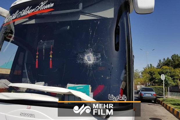 حمله هواداران پرسپولیس به اتوبوس کاشیما؟!