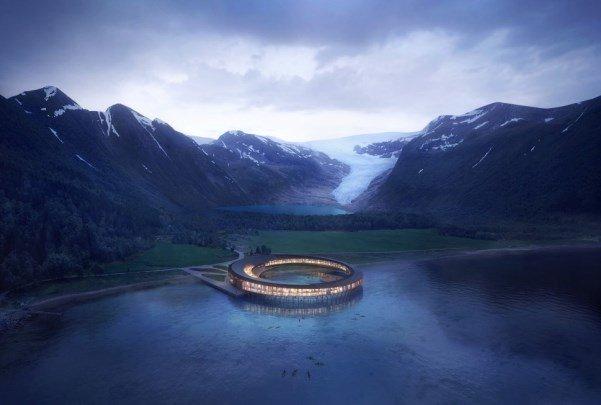 هتلی که انرژی خود را تولید می کند
