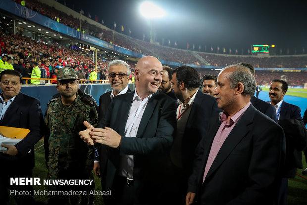 حاشیه های قبل از دیدار پرسپولیس و کاشیما