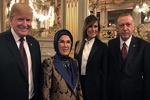 ڈونلڈ ٹرمپ کی ترک ہم منصب اردوغان کے ساتھ پیرس میں ملاقات