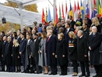 پیرس میں جنگ عظیم اول کی صد سالہ یادگاری تقریب