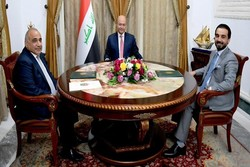 Iraklı üst düzey yetkililerden Bağdat'ta önemli görüşme
