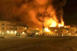 دلیل آتش سوزی ساختمان پیامنور اوز اتصالی برق بود