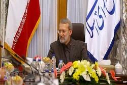 دیدار لاریجانی با روسای بانک های دولتی و خصوصی/بررسی مشکلات و برنامه های پیش روی نظام بانکی