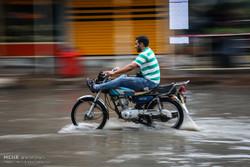 Ahvaz'da yağmur etkili oldu