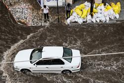 اہواز میں شدید بارش کی وجہ سے عوام کو مشکلات کا سامنا