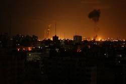 استشهاد 7 فلسطنينين في قصف عنيف للاحتلال الإسرائيلي  شرق خان يونس