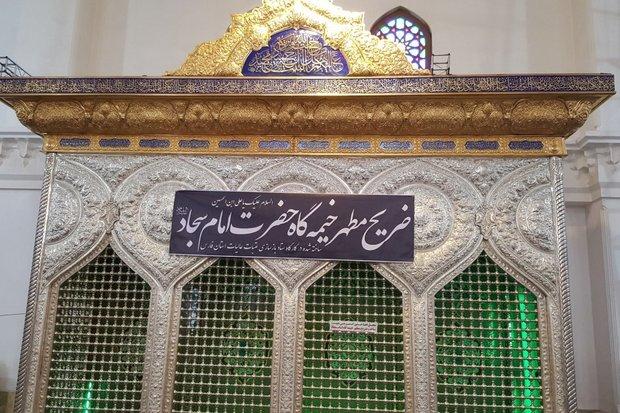 ضریح مطهر خیمه گاه امام سجاد(ع) ساخته شد/ ساخت صحن حضرت زینب(س)