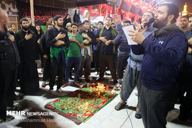 سومین سالگرد شهید مدافع حرم سید سجاد حسینی در بین الحرمین