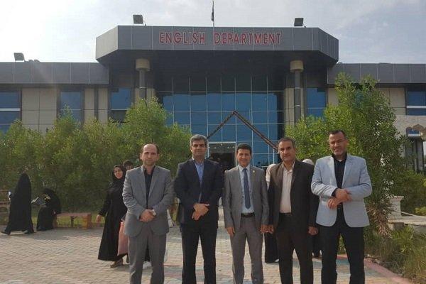تقویت همکاری دانشگاه فرهنگیان بوشهر و دانشگاه کربلا