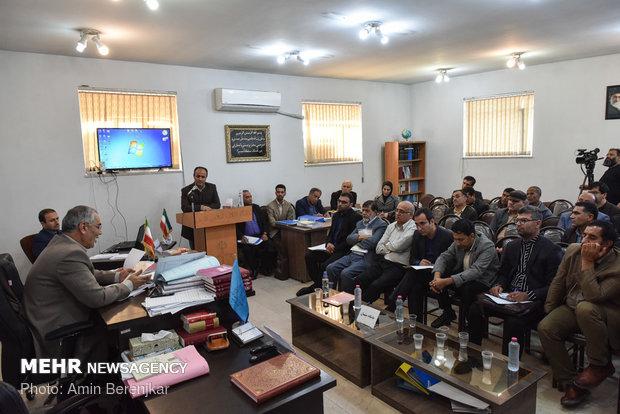 چهارمین دادگاه مخلوط کنندگان خاک با گندم در شیراز