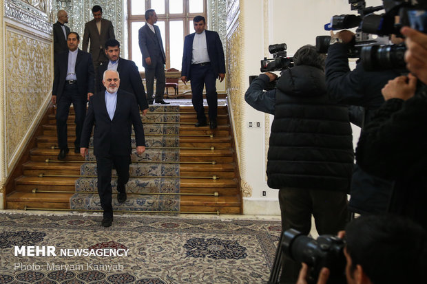 Zarif's meetings with UNWTO chief, German's ex-FM