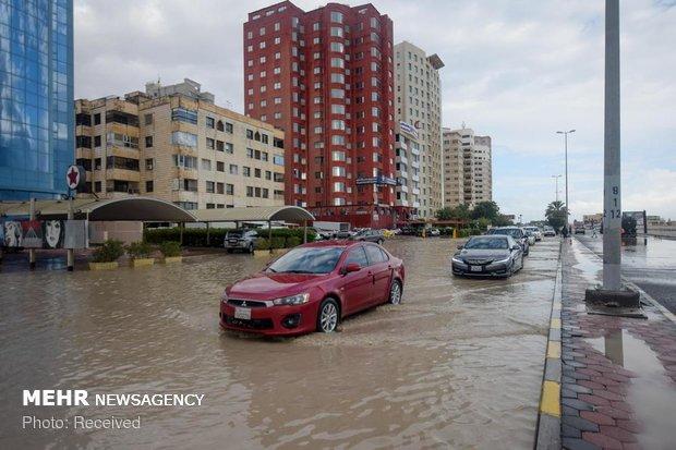 سیل در کویت
