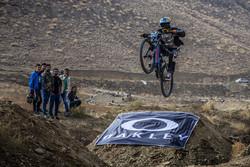 انطلاق سباق الدراجات الهوائية الجبلية في اراك وسط ايران/ صور