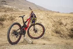 VIDEO: Mountain bike racing in Boroujen