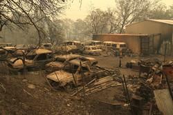 شمار قربانیان آتشسوزی کالیفرنیا به ۴۲ نفر رسید