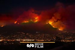 شمار قربانیان آتش سوزی کالیفرنیا به ۳۱ نفر رسید