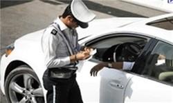 توقیف یک دستگاه خودرو در ایوان با ۷۳ میلیون ریال خلافی