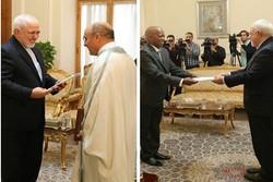 وزير الخارجية يتسلم نسخة من أوراق اعتماد سفيرَي تونس وسيراليون
