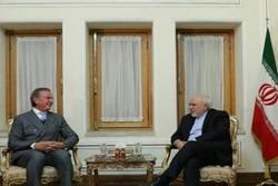 Ex-Brazilian president meets Zarif